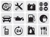 ícones de automóveis — Vetorial Stock