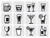 Simge içecek — Stok Vektör