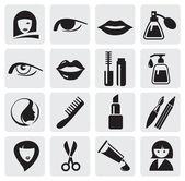 Iconos de belleza — Vector de stock