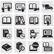 Books icons — Stock Vector #11501802
