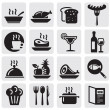 Icons set Restaurant — Stock Vector #11539854