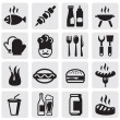 Set barbecue - Stock Vector