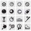 Set sports — Stock Vector #11539861