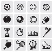 Set sports — Stock Vector