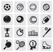 Ställ in sport — Stockvektor