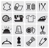 矢量缝纫设备 — 图库矢量图片