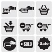 Payment icons — Stock Vector