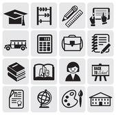 Sistema de educación — Vector de stock