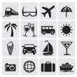 Tourism set icins — Vector de stock #11753783
