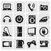 Devices icons set — Stok Vektör