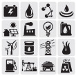 Energy and power icons — Stock Vector #11803287