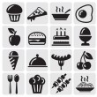 Food icons — Stock Vector #11803294