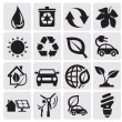 Eco energy icons — Stock Vector #11803297