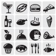 Food Drink icons — Stock Vector #11803305