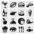 Stock Vector: Food Drink icons