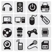 Conjunto de ícones elétrica — Vetorial Stock