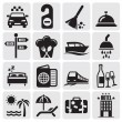 Hotel icons — Stock Vector #11842989
