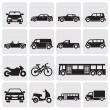 Transportation set — Stock Vector #11842995