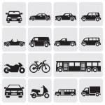 conjunto de transporte — Vetorial Stock  #11842995