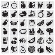 Royalty-Free Stock Vector Image: Fruit and Vegetables set