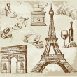 Set of france — Stock Vector #11950856