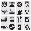 Auto Car icons - Vektorgrafik
