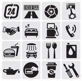 Auto Car icons — Stock Vector