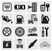 Auto Car icons — Stok Vektör