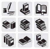 Books set — Stock Vector