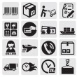 Shipping icons — Stock Vector #12055735