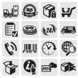 Shipping icons — Stock Vector #12055741