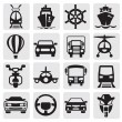 Stock Vector: Transport icons set
