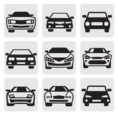 Car symbols set — Stok Vektör