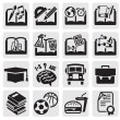 Stock Vector: Education set