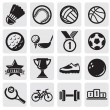 Sports set - Stock Vector
