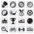 Stock Vector: Sports set