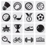 Sports set — Stock Vector