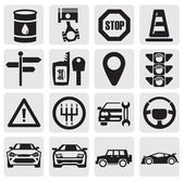 Conjunto de auto — Vetorial Stock