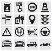 Zestaw auto — Wektor stockowy
