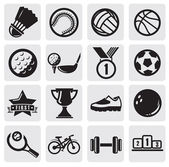Sports set — Vector de stock