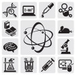 Vector de stock : Science set