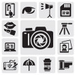 Photo icons — Stock Vector #12096520
