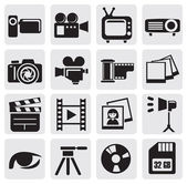 Set de filmagem — Vetorial Stock
