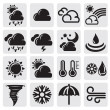 Weather set — Stock Vector #12111580