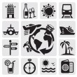 Royalty-Free Stock Vector Image: Travel set