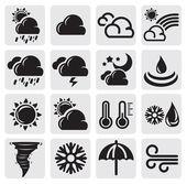 погода в набор — Cтоковый вектор