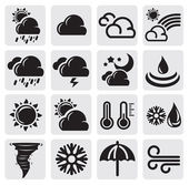 Weather set — Vector de stock