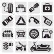 Royalty-Free Stock Vector Image: Car service set