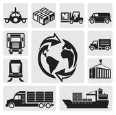 Logistique & transport — Vecteur