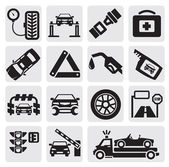 Car service set — Stock Vector